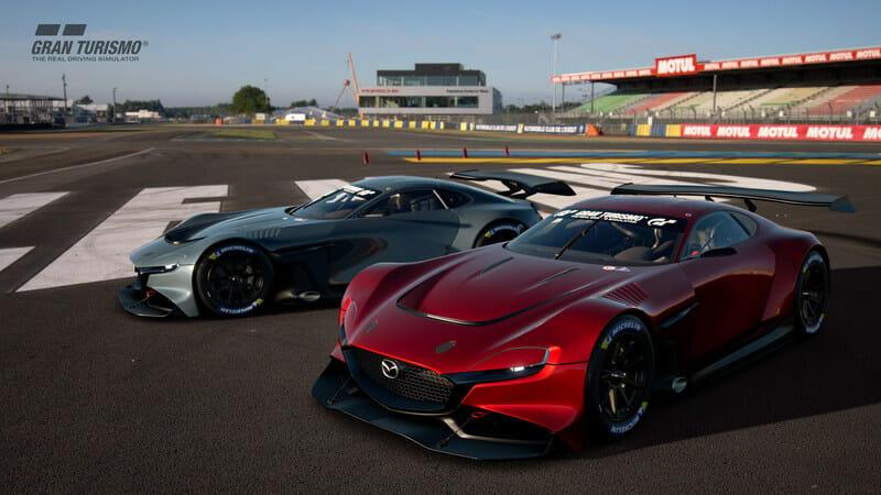 Mazda Canada Inc--Mazda Begins Providing Virtual Racing Car- Maz